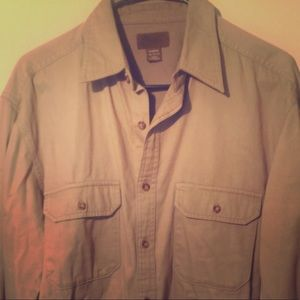 Old Navy heavy Button Down shirt